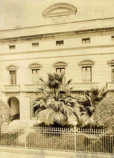 Façana del Gremi, 1951
