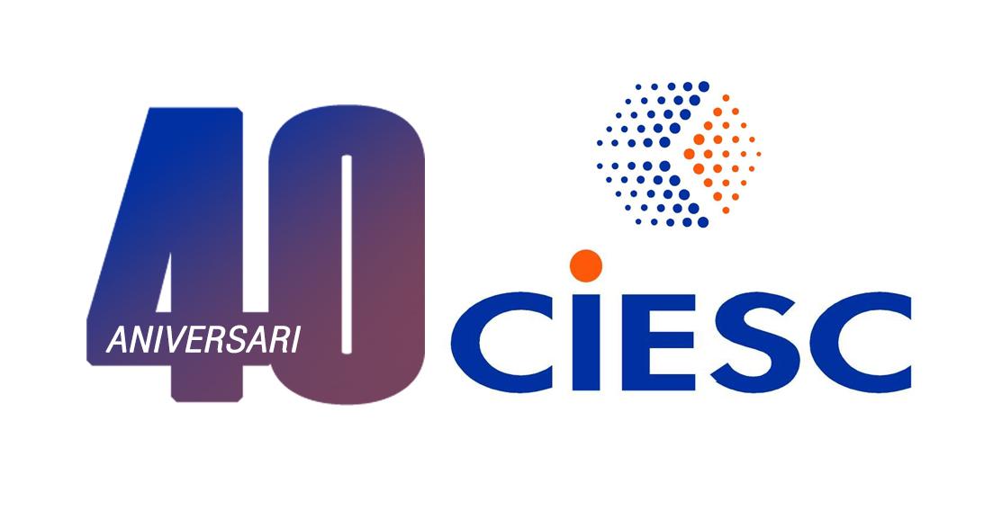 Logo CIESC ANIVERSARI 40