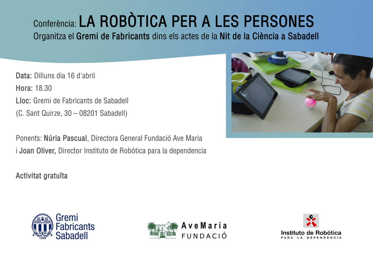 Nit-ciencia-Robotica GREMI FABRICANTS
