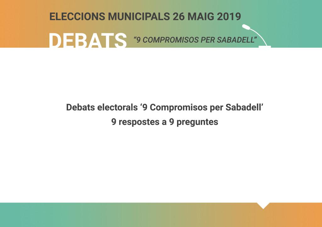 Debats_9 compromisos Sabadell Respostes