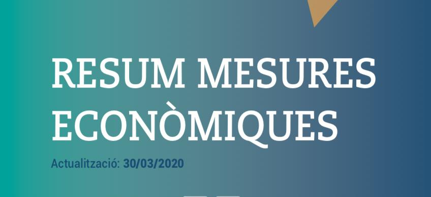 Mesures Econòmqiues 30 març