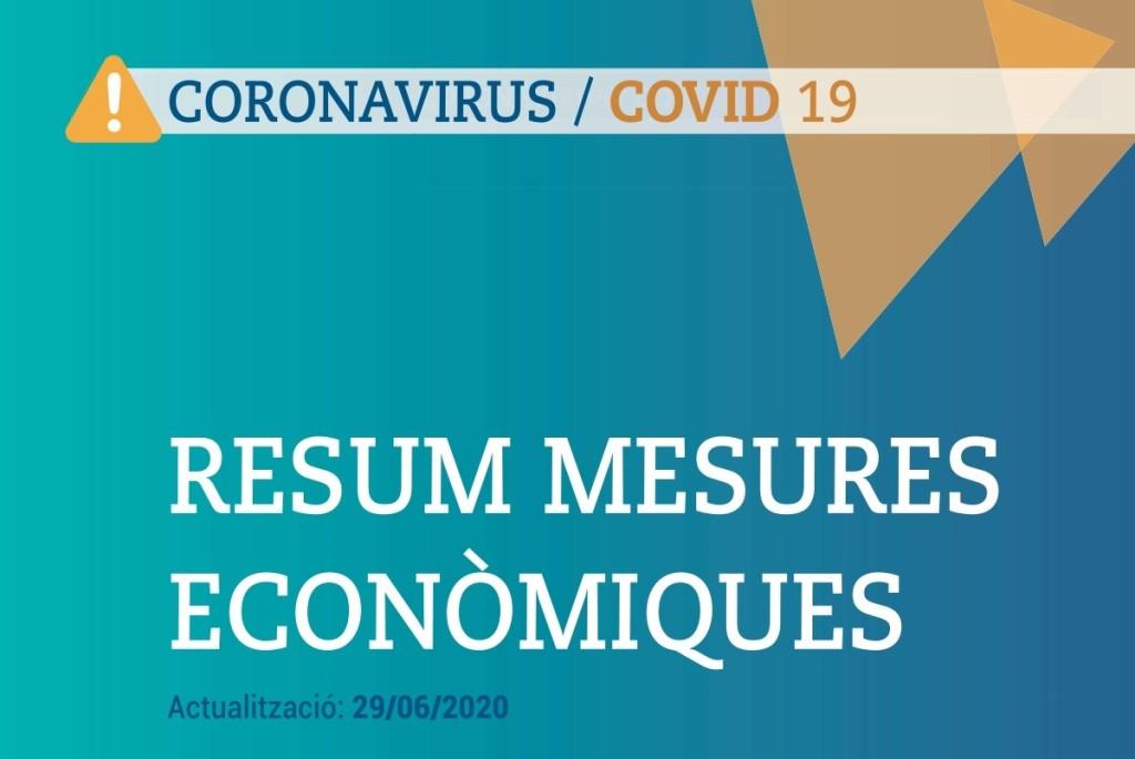 Mesures econòmiques covid19_29 juny 2020_imatge