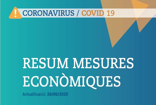mesures economiques 26 juny