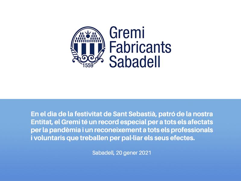 Sant Sebastià_Gremi Fabricants Sabadell